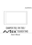 RV 780 AVTEX Tourer Two Manual EN